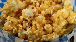 Caramel Corn Recipe Demonstration - Joyofbaking.com
