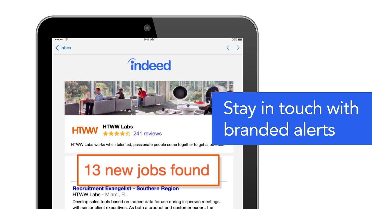 Indeed Company Pages for Employers