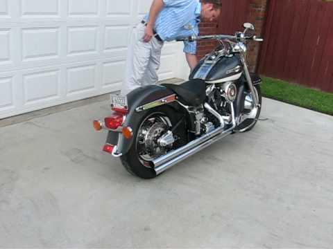 99 Harley Fatboy Cold Start