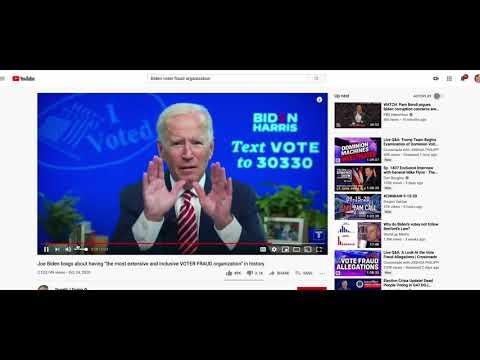 Biden Confessed Trump Predicted Election Fraud