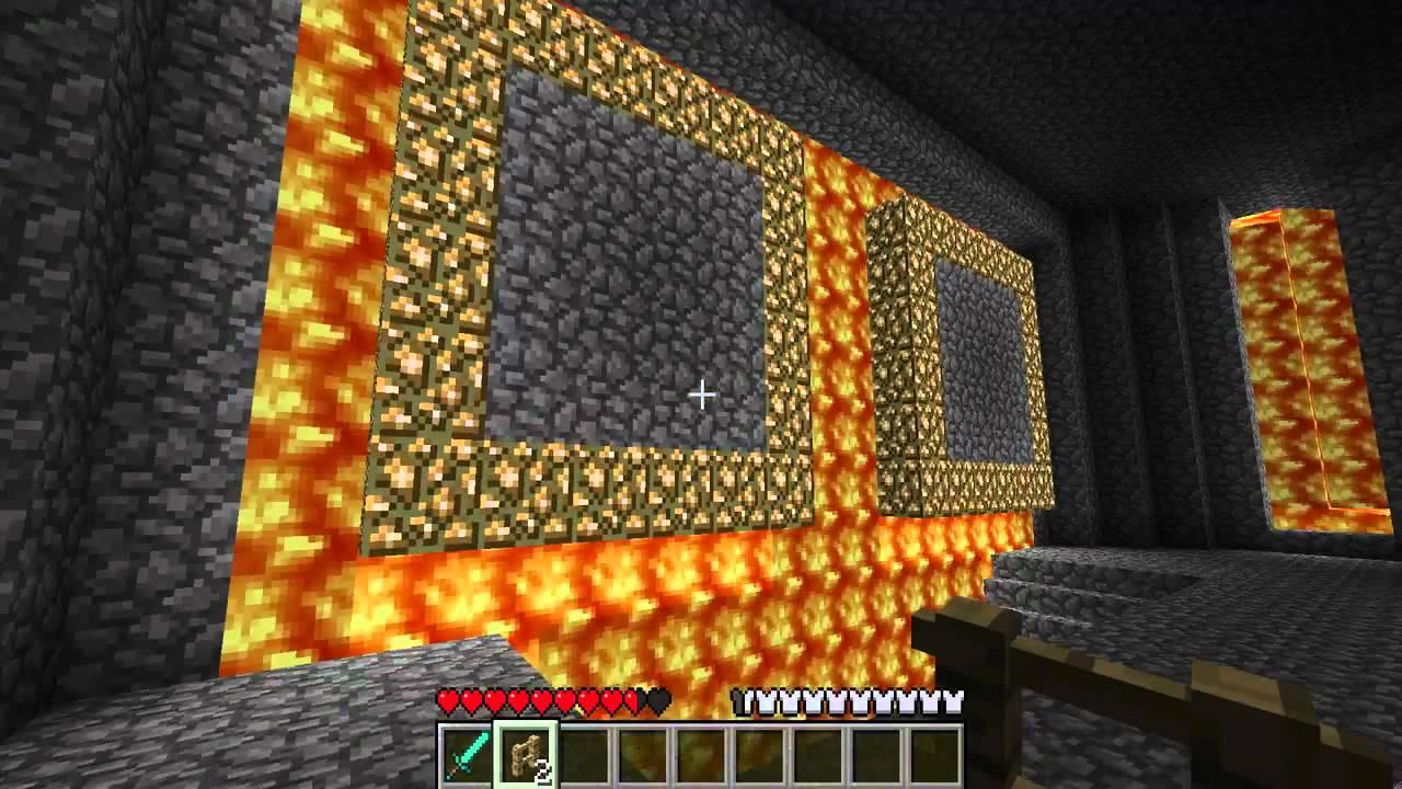 Minecraft Bowser Castle Build