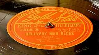 Delivery Man Blues - Aubrey Gass With The Easterners (Gold Star)