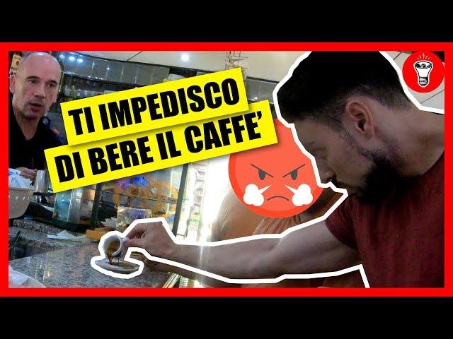 Ti Impedisco di Bere il Caffè - [CHI SI ARRABBIA PRIMA?] - Esperimento Sociale] - theShow