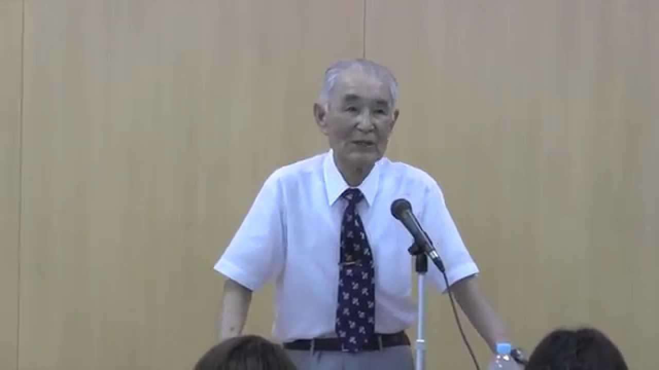 岡山】元零戦パイロット笠井智一氏講演会 - YouTube