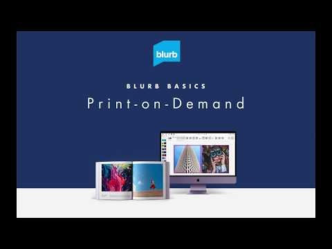 How Does Print On Demand Work - Print On Demand Books With Blurb