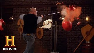Forged in Fire: The Chinese Zhanmadao Sword ANNIHILATES the Final Round (Season 7) | History