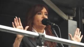 Discurso Completo de Cristina Fernandez de Kirchner en Comodoro PY el dia 13-04-16