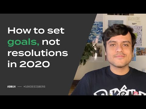 How To Set Goals In 2020