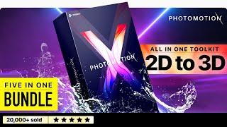 2D إلى 3D: خلق يعيش الصور 3D مع Photomotion X [2019 بعد آثار أدوات]