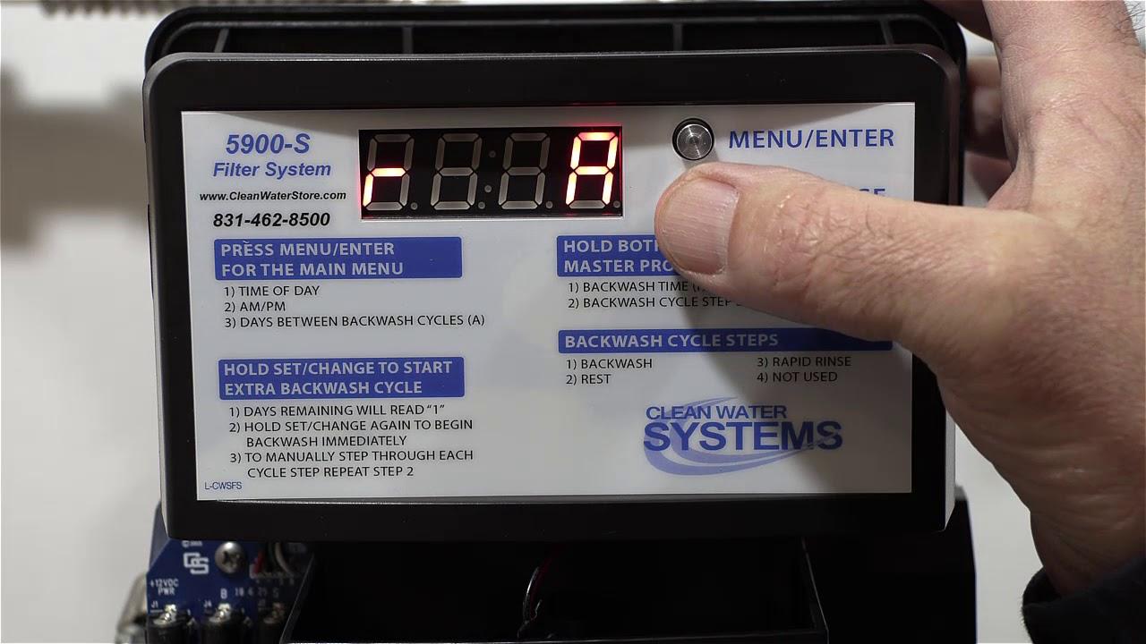 5900-BT Carbon Backwash Filter Installation & Start-Up Part 3