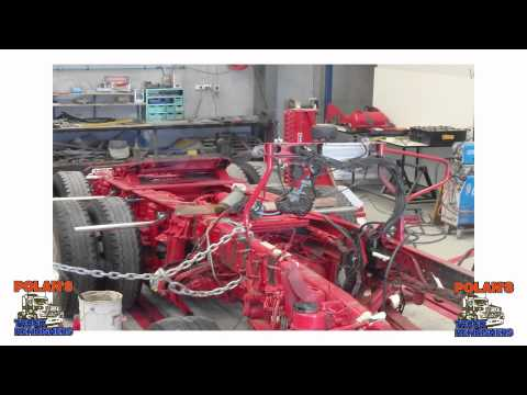 Mercedes Benz Actros Chassis Straighten Rebuild