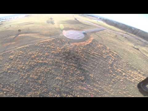 Drone flight above Lake Oconee