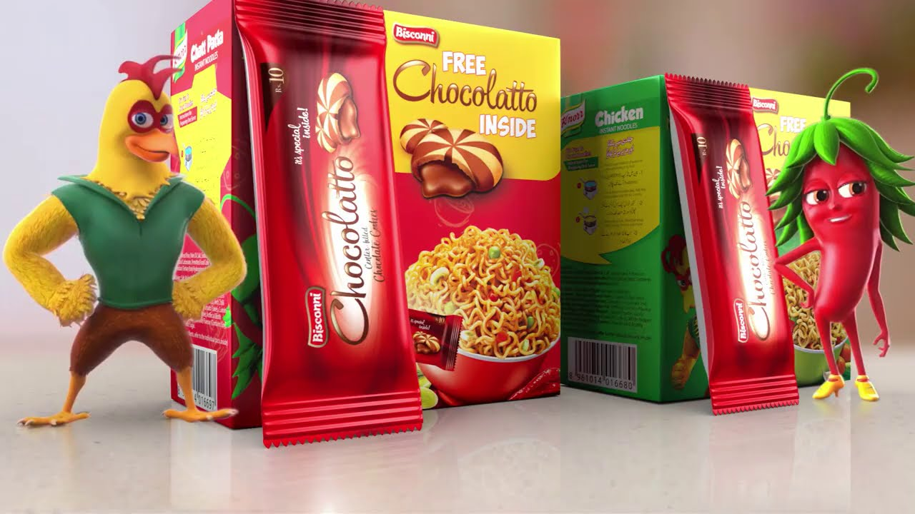 Buy Knorr Noodles & get a FREE Chocolatto inside.