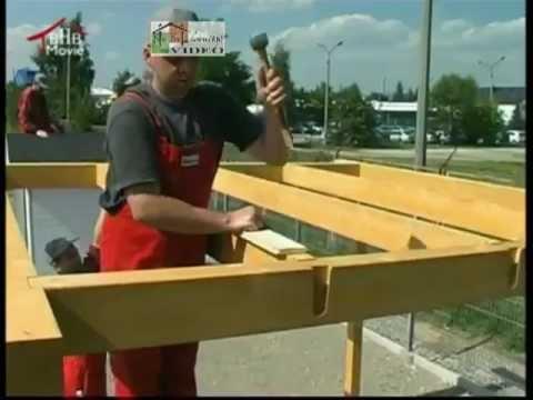 Carport bouwen hoe bouw ik een carport doovi - Montage d un carport ...