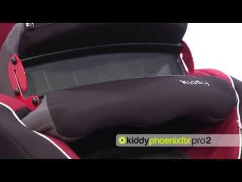 kiddy phoenixfix pro 2 kindersitz youtube. Black Bedroom Furniture Sets. Home Design Ideas