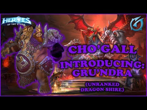 Grubby | Heroes of the Storm - Cho'gall - Introducing Gru'ndra - Unranked - Dragon Shire