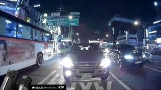 Video thực tế camera hành trình Hàn Quốc IROAD X9 | Mắt phía sau | Nhập khẩu Korea BH 24 tháng
