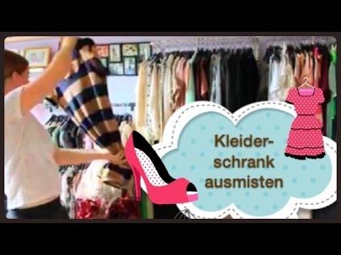Kleiderschrank Ausmisten Tipps Und Tricks Youtube