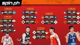 Full schedule of Fiba Asia Cup qualifiers in Clark