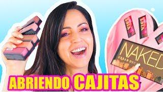 MUCHO MAQUILLAJE con SORTEO! Abriendo Cajitas ♥ SandraCiresArt