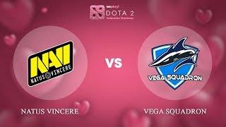 Natus Vincere vs Vega Squadron - ENG @Map1 | Dota 2 Valentine Madness | WePlay!