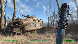 Ферма Эбернети и ее окрестности - Fallout 4 Выживание 2018 04