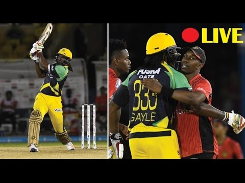 🔴 CPL 2016 Qualifier 2 innings 1 full match || Jamaica Tallawahs v Trinbago Knight Riders