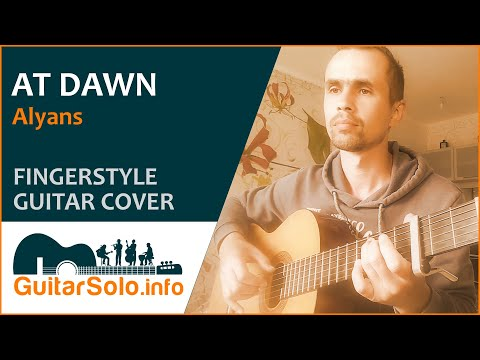 """""""At Dawn""""  - Guitar Cover (Fingerstyle)"""