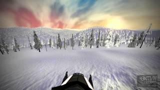 SledSimulator alpha 0.1.0 gameplay