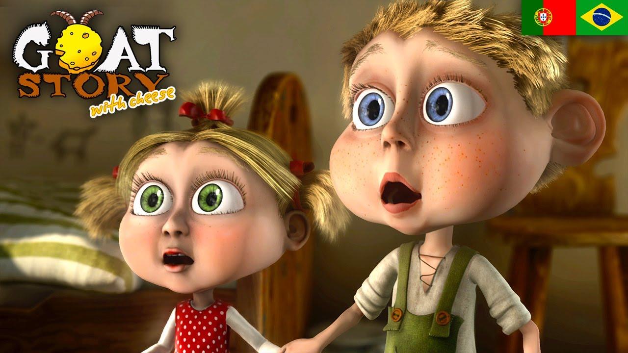 Uma Fazenda Maluca 2 - Queijo de Cabra - Filme animado português dublado completo (HD)
