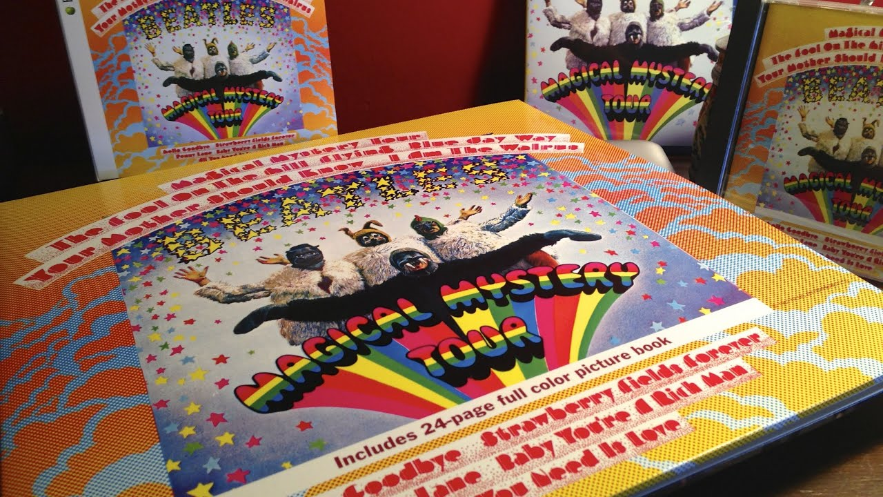 The Beatles Magical Mystery Tour 2012 Vinyl Remaster Youtube