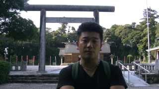 アキーラさん参拝②島根県・松江護国神社,Matsue-Gokoku-Shrine,Shimane,Japan