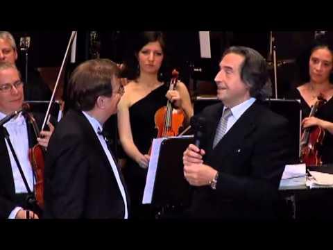 Riccardo Muti ospite di Paolo Limiti Premio E Limiti 2014