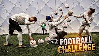 FOOTBALL CHALLENGE w/ Adryan, Qesek