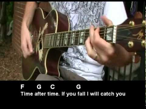 Time After Time E-Z Strummer Style