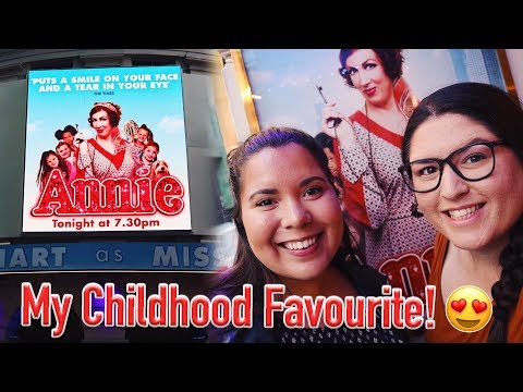 ANNIE The Musical (West End) 🎭 REVIEW