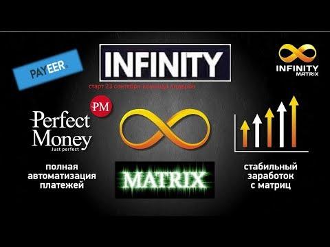 Вебинар INFINITY MatriX от 15 09 19 Infinity Matrix заработок в интернете, маркетинг,МЛМ