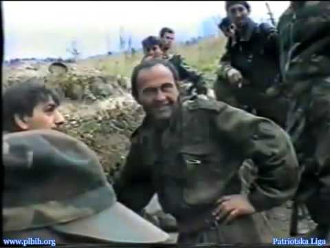 Serbian soldiers surrender to the Bosnian army-Lisaca (Majevica) 94