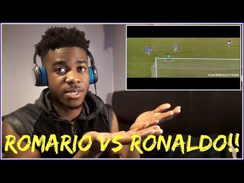 ROMARIO vs RONALDO - WHO WAS THE BEST BRAZILIAN STRIKER? 🤔  Reaction
