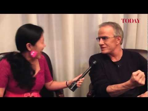 TODAY speaks to Christopher Lambert, Dec 3, 2012