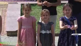 В Чечне прошла благотворительная акция для детей, погибших силовиков