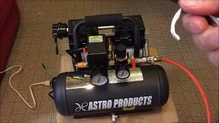 ASTRO PRODUCTS サイレントエアーコンプレッサー 6L コンプレッサー 検索動画 27