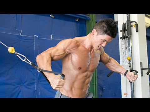 Chiseled Chest Cable Workout