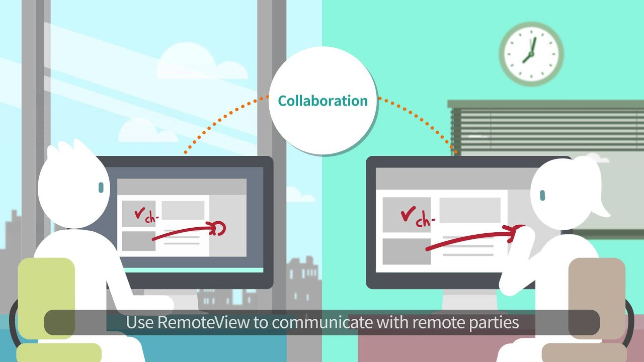Remote Access and Control PCs with RemoteView