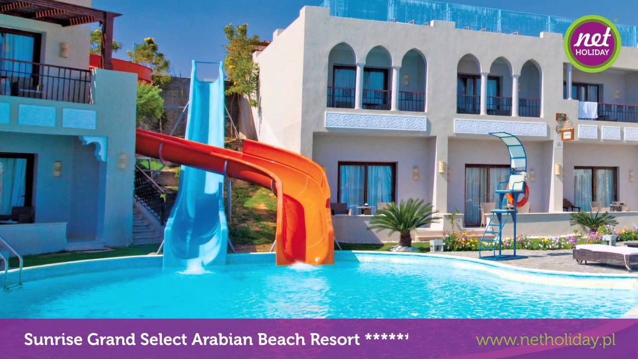 hotel sunrise grand select arabian beach 5 5 egipt sharm el sheikh youtube. Black Bedroom Furniture Sets. Home Design Ideas