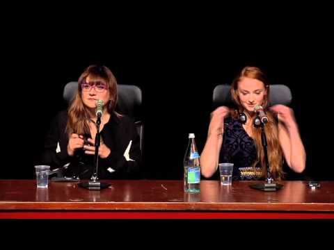 Conferenza Stampa Another Me - Press Conference in Rome Sophie Turner Gregg Sulkin