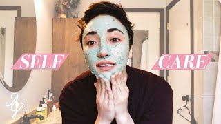 MY SELF CARE ROUTINE! | Alex G