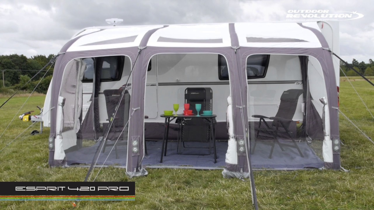 Outdoor Revolution Esprit 420 Pro Caravan Awning ...