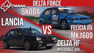 LAPTIMING: Delta Force. Lancia Delta HF vs. Skoda Felicia RX (ep.145)