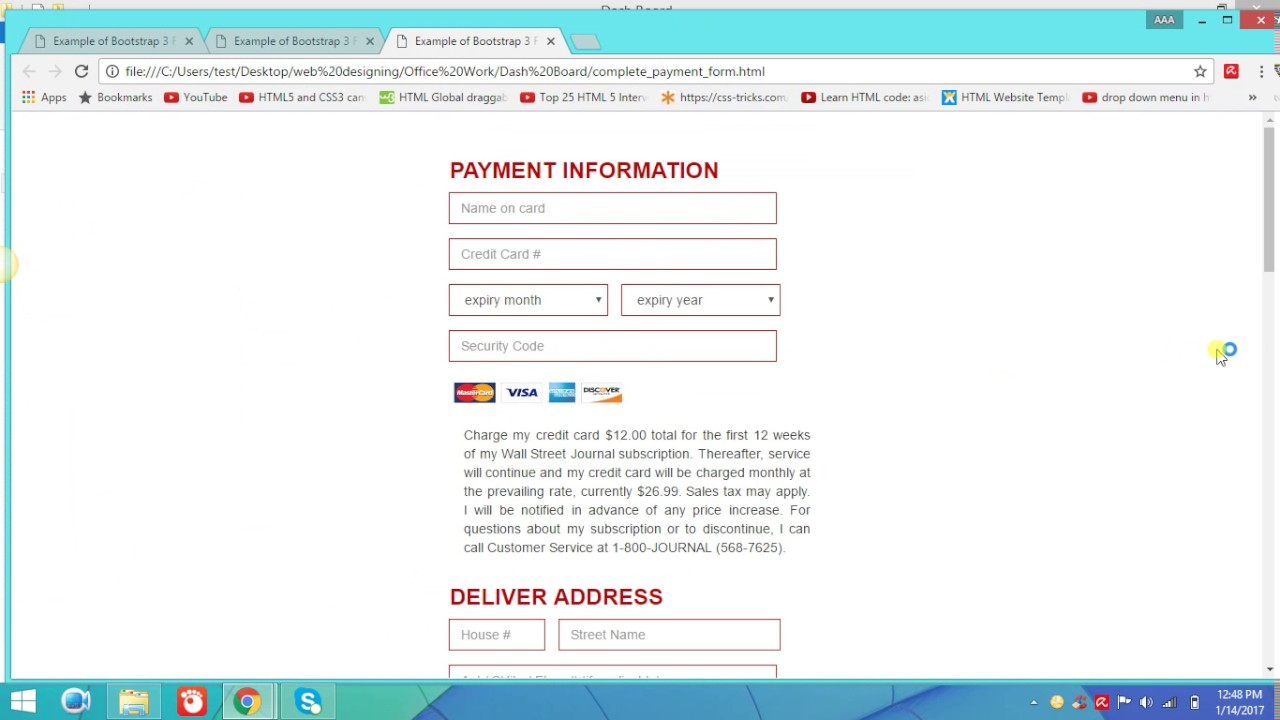 How to responsive your registration forms youtube how to responsive your registration forms falaconquin